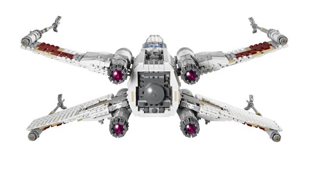 Lego UCS X-Wing 2013 back 10240