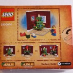 2011 Lego Holiday Set 1 Box Back