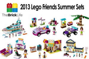 2013 Lego Friends Summer Sets | Images & Reviews
