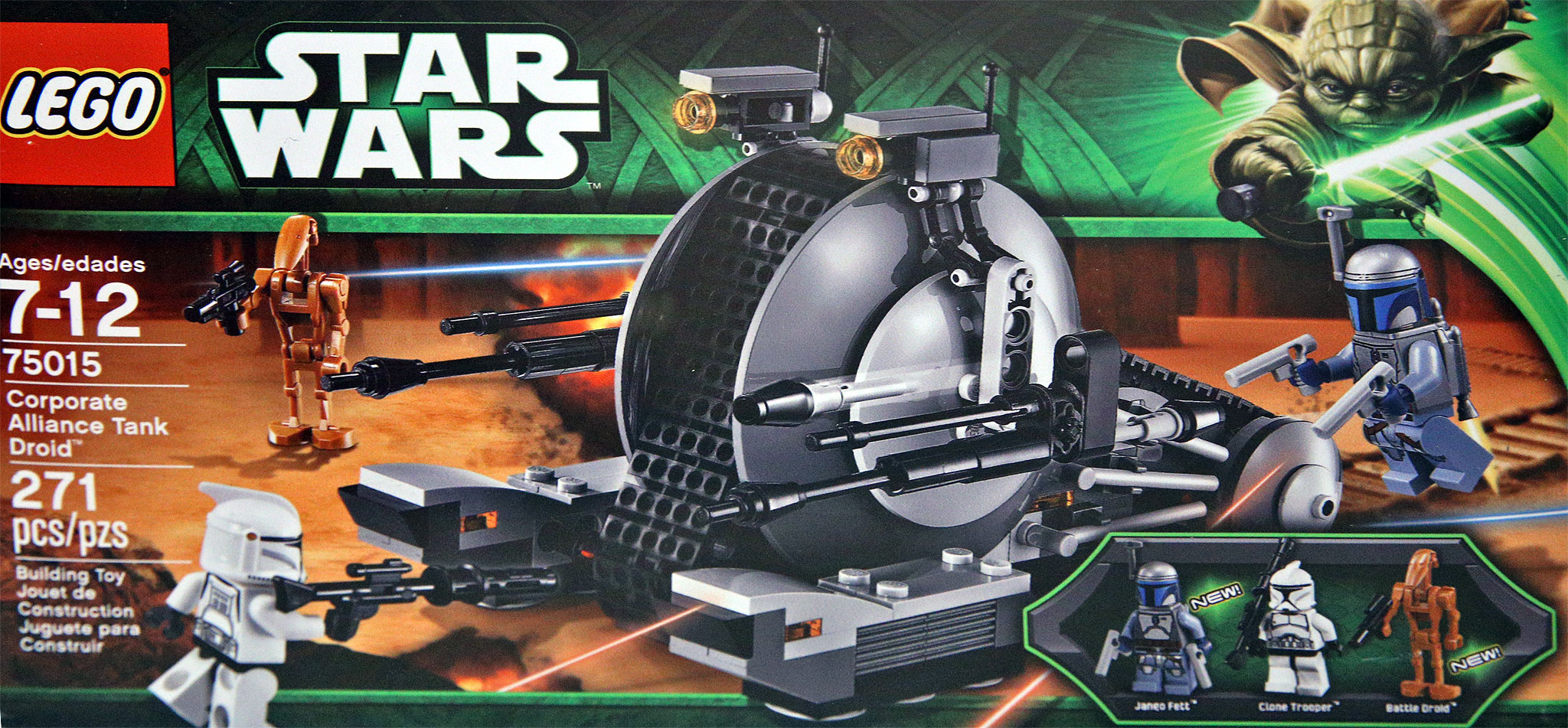 lego star wars  summer sets se list images corporate alliance tank droid
