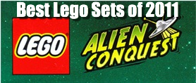Top 3 Lego Alien Conquest Sets of 2011