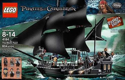Black Pearl Lego Set