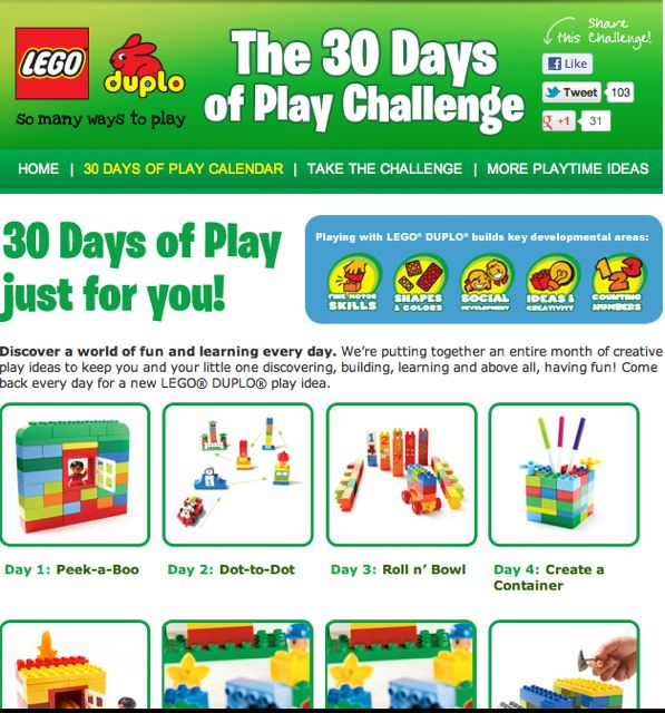 Duplo 30 Days Of Play