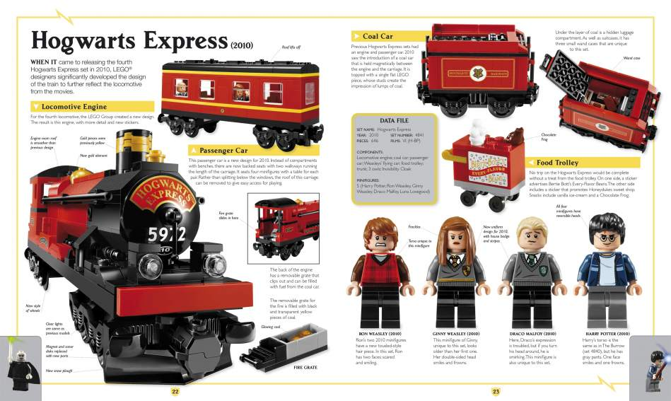 Harry Potter Lego Book Image 3