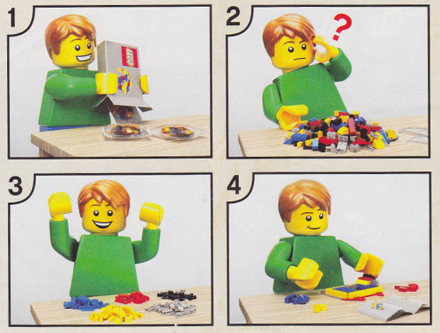 How To Make A Lego Set – Instructions