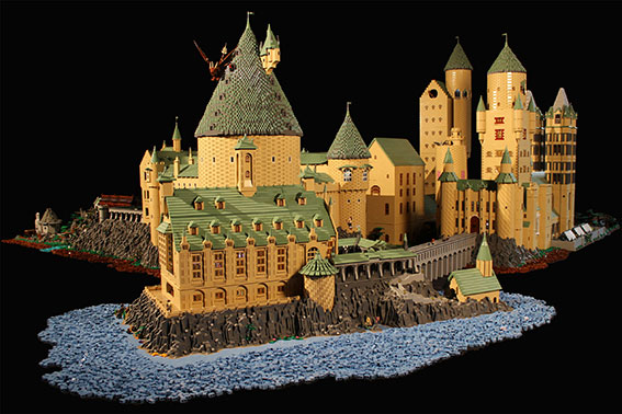 Huge Lego Hogwarts – Alice Finch