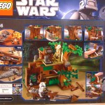 LEGO 7956 Star Wars Ewok Attack Box Back