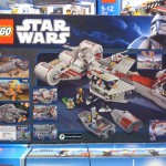 LEGO 7964 Star Wars Clone Wars Republic Frigate Box Back