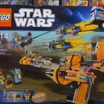 LEGO 7962 Star Wars Anakin Skywalker and Sebulba's Podracers Box