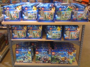 Lego Legends Of Chima Set Display