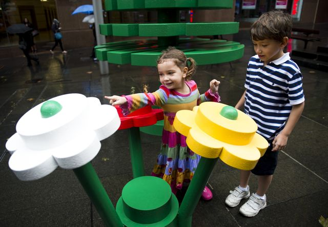 Lego Festival Of Play - Sydney Forest Flowers
