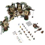 LEGO 10236 Ewok Village Above