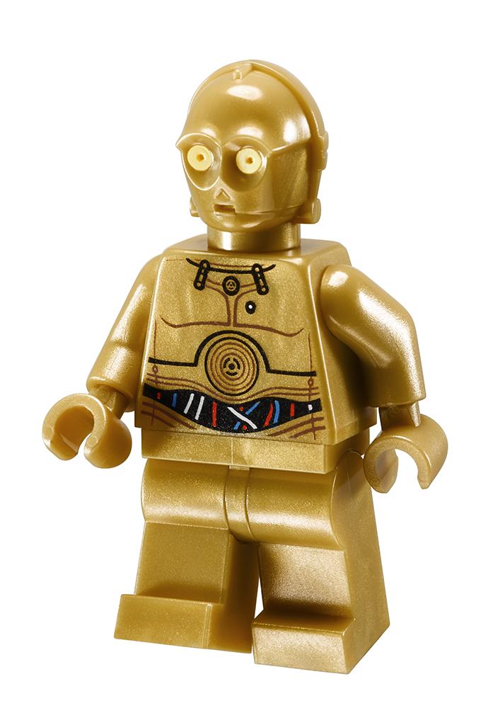 R2d2 And C3po Lego LEGO 10236 Ewok Villag...