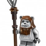 LEGO 10236 Ewok Village Chief Chirpa Minifigure