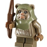 LEGO 10236 Ewok Village Ewok Warrior Minifigure