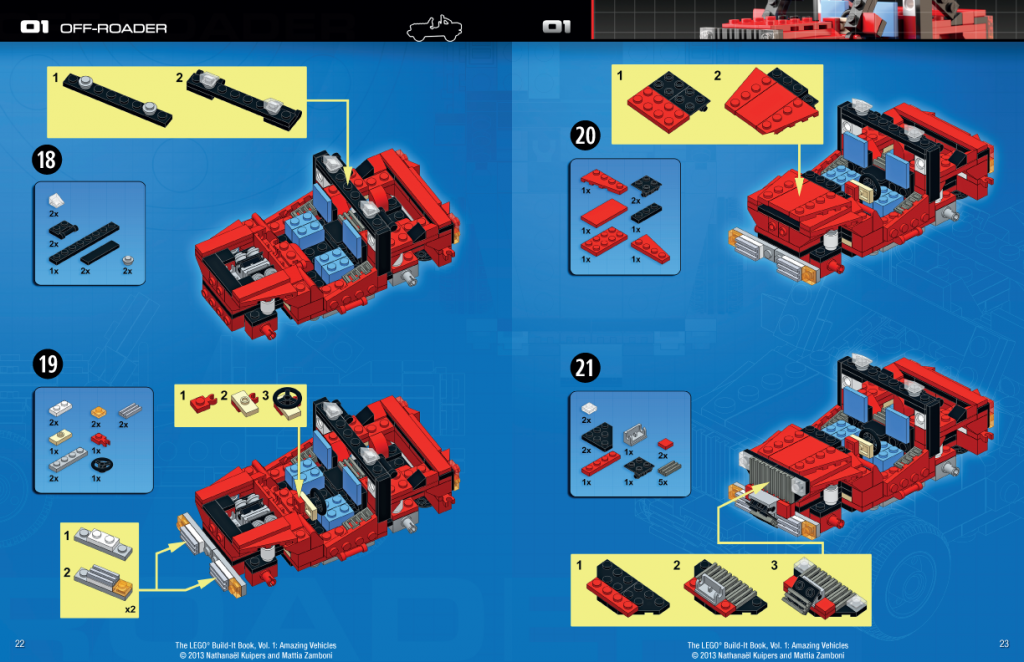 LEGO Amazing Vehicles Book Image 2