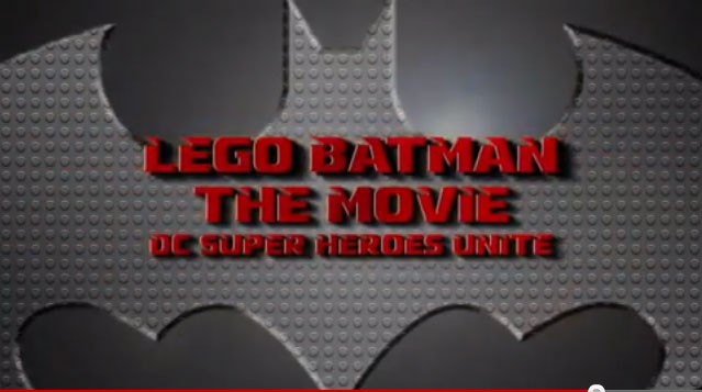 Lego Batman DC Superheroes Unite Movie Trailer