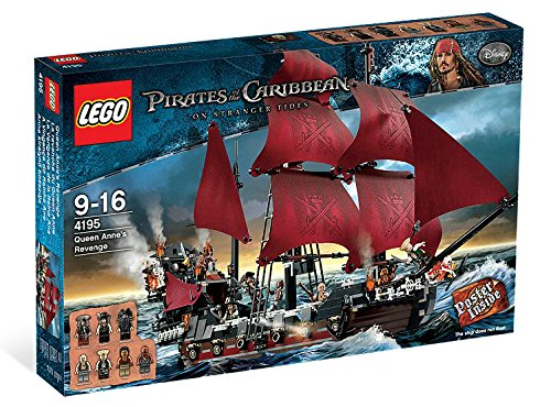 Lego Queen Anne S Revenge 4195 Review The Brick Life