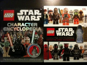LEGO Star Wars 2nd Edition Encyclopedia Cover Comparison