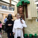Lego Star Wars Yoda Event_mini Darth Vader and Princess Leia