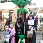 Lego Star Wars Yoda Event_young fans dress up