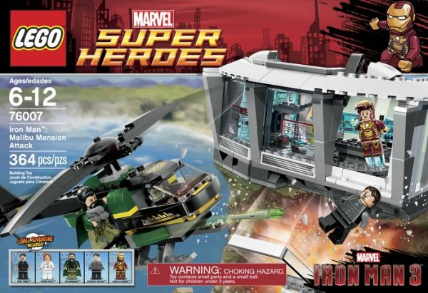 Lego Iron Man 3 Sets 2013 Wave 1