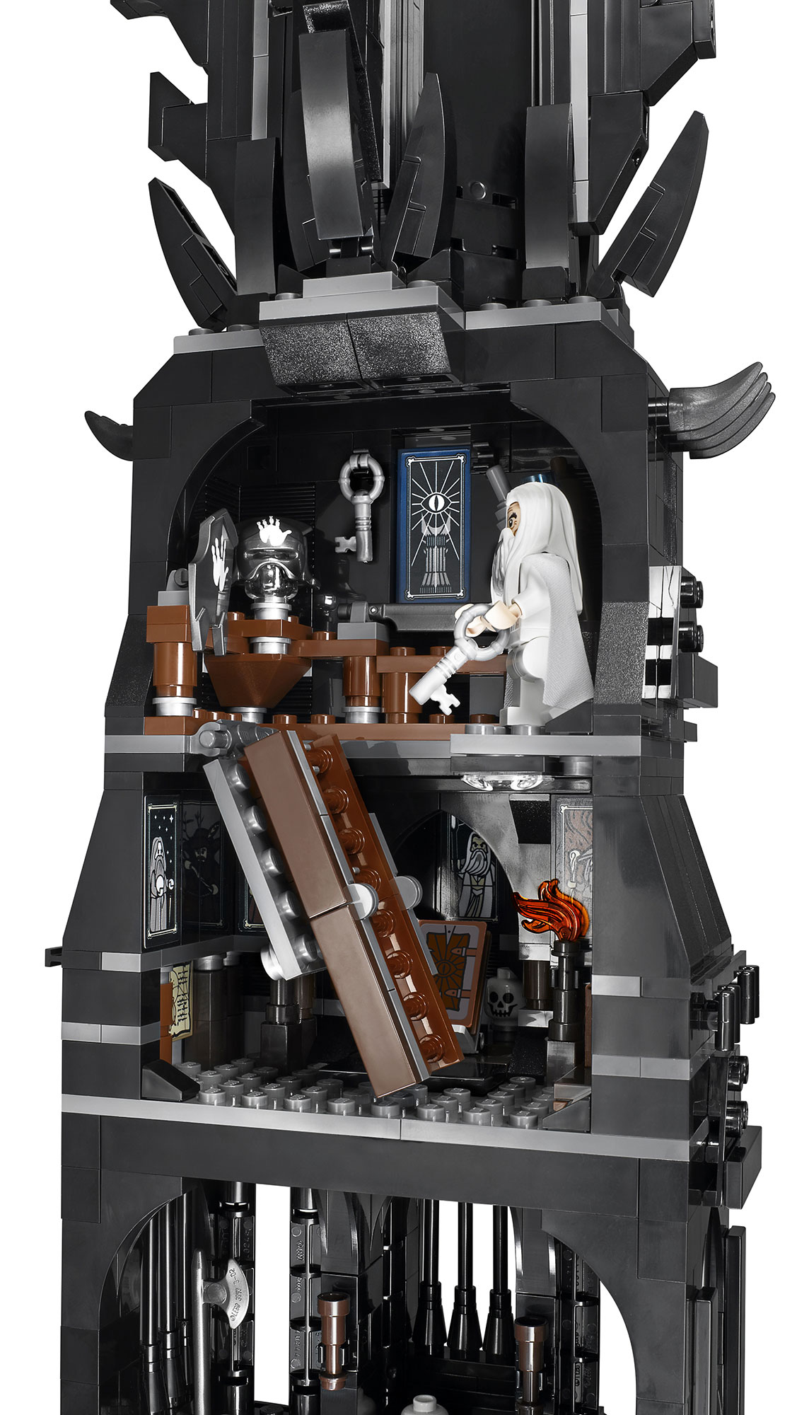LEGO-Tower-Of-Orthanc-10237-Tower-Stairs