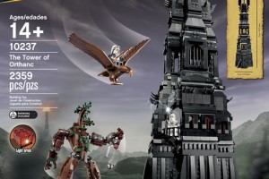 LEGO Tower Of Orthanc Set 10237 | HD Images & Video