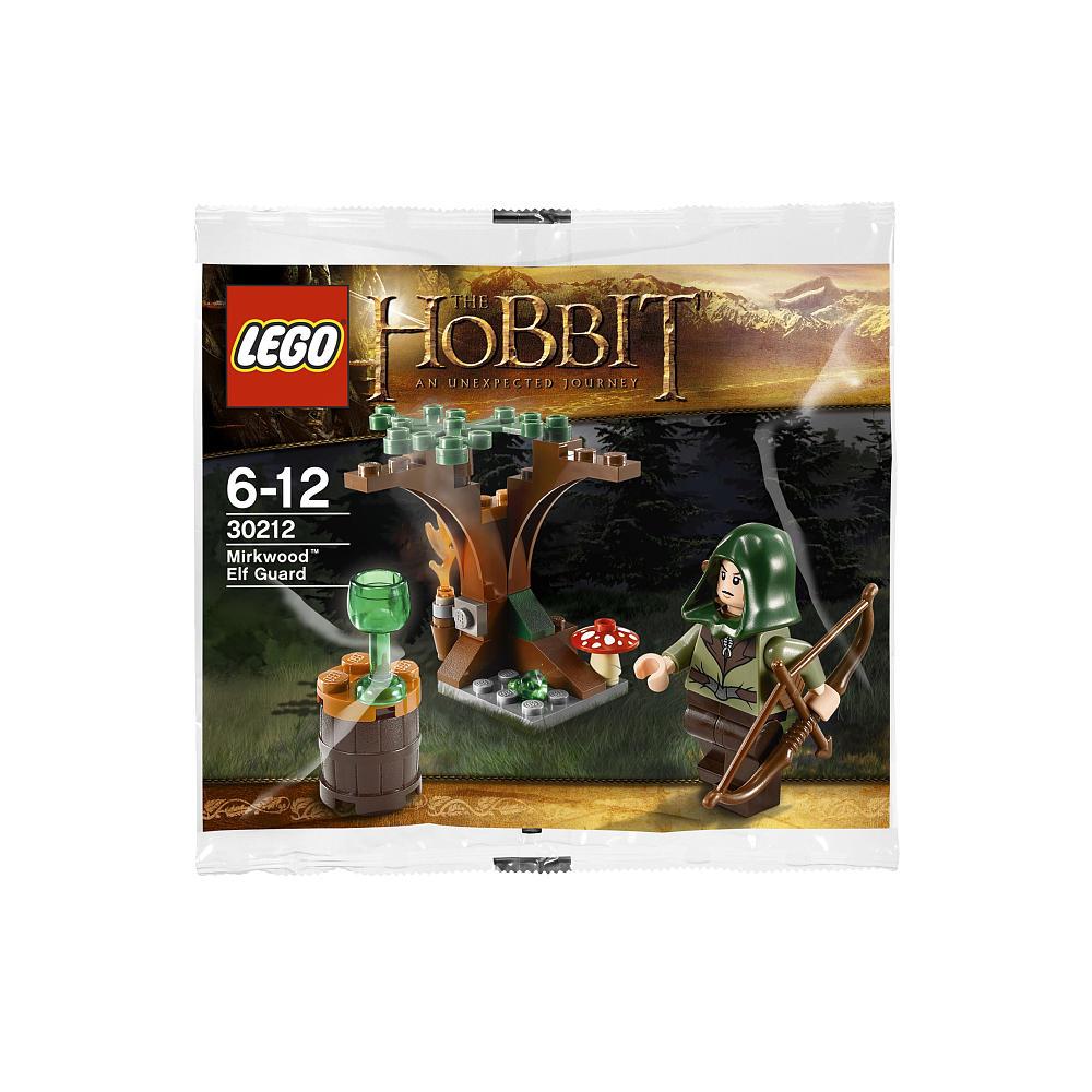 Lego The Hobbit Mirkwood Elf Guard 30212 New