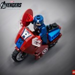 Lego 6865 Captain America Avenging Cycle