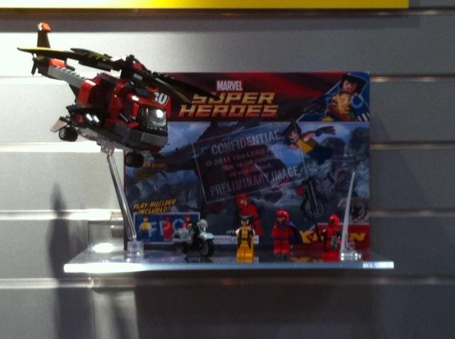 Lego 6866 Wolverine Chopper Showdown Prelim