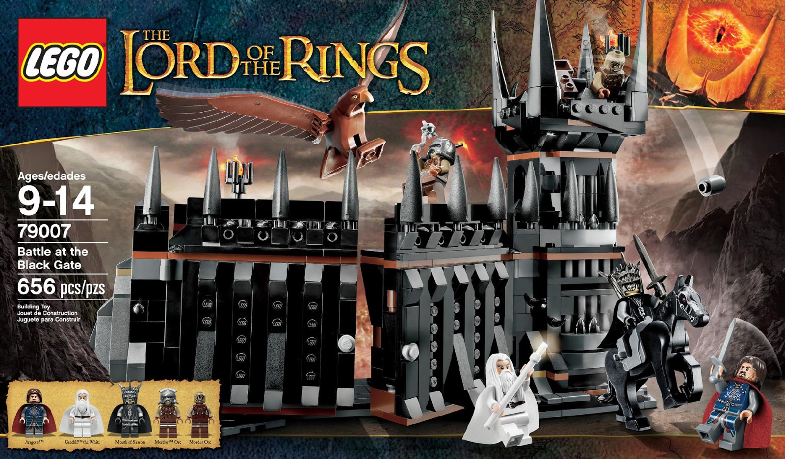 Lego Lord Of The Rings Full Character List