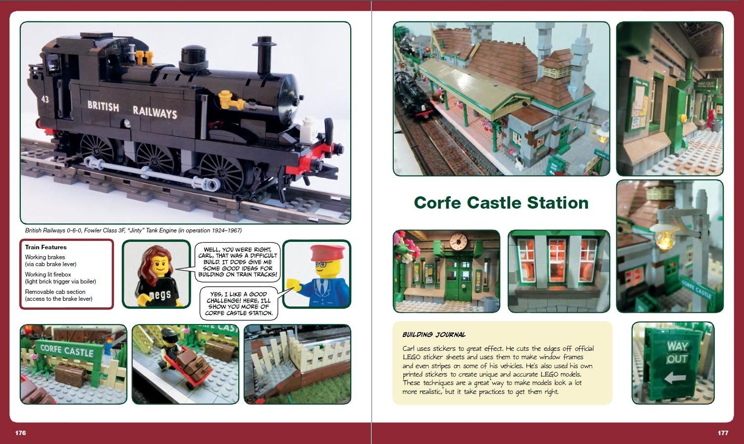 Lego adventure book review trains