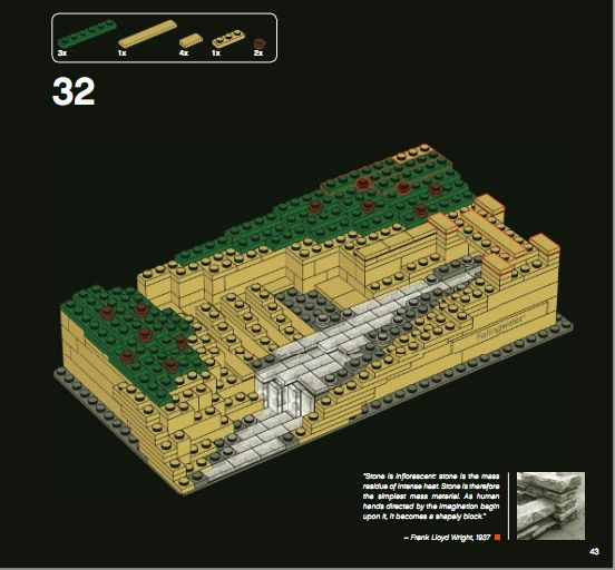 lego architecture fallingwater review set 21005