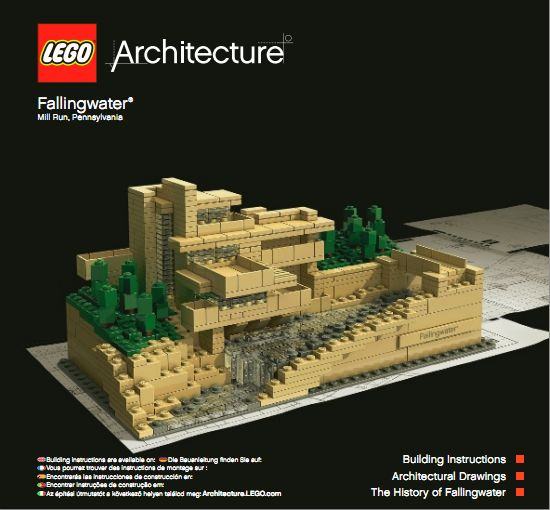 Lego Architecture Fallingwater – Review (Set 21005)