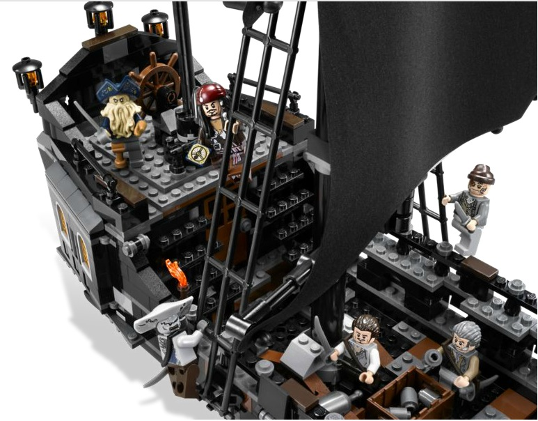 Lego Black Pearl (Set 4184) Pirates Of The Caribbean