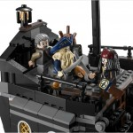 Lego Black Pearl Upper Deck