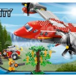 Lego City 2012 Fire Plane