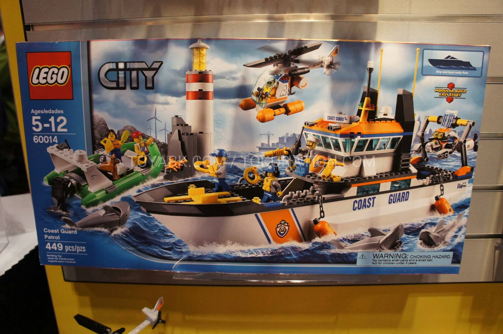 Lego City Coast Guard Patrol 60014