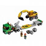 Lego City Excavator Transporter 4203