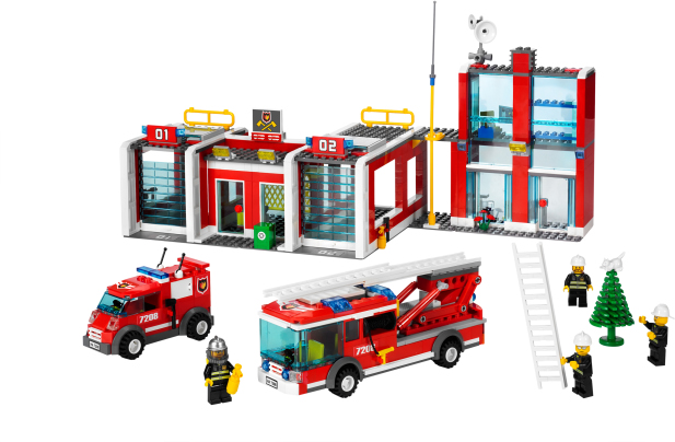 Lego Fire Station – Set Guide And Reviews