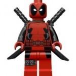 Lego Deadpool Minifigure