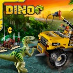 Lego Dino Raptor Chase 5884 Box
