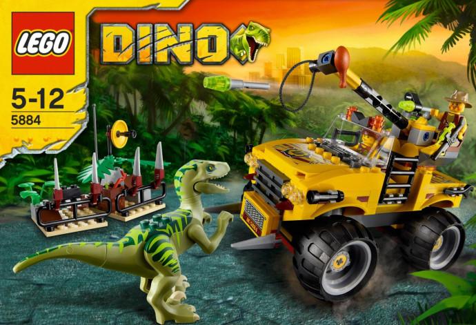 Lego dino raptor chase 5884 - Lego dinosaures ...