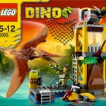 Lego Dino Tower Takedown 5883 Box