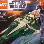 Lego Saesee Tiin's Starfighter 9498 Box Front