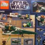 Lego Saesee Tiin's Starfighter 9498 Box Back