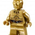 LEGO 10236 Ewok Village C3PO Minifigure