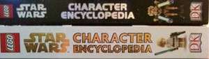 LEGO Star Wars 2nd Edition Encyclopedia Spine Comparison