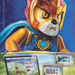 Lego Chima Comic Issue 1 Back Cover